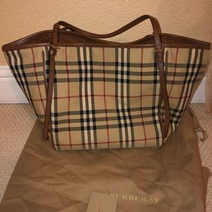 Burberry horseferry check small Canterbury bag